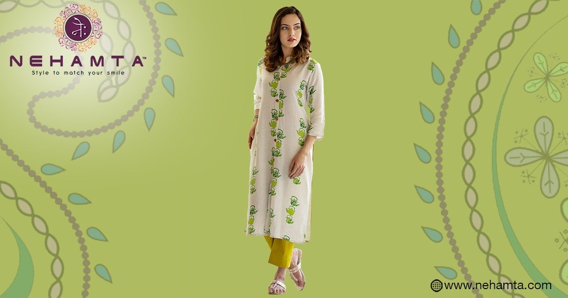 Buy Embroidered Stylish Kurtis for Women in India